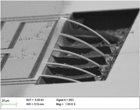 Micro heater on Tin