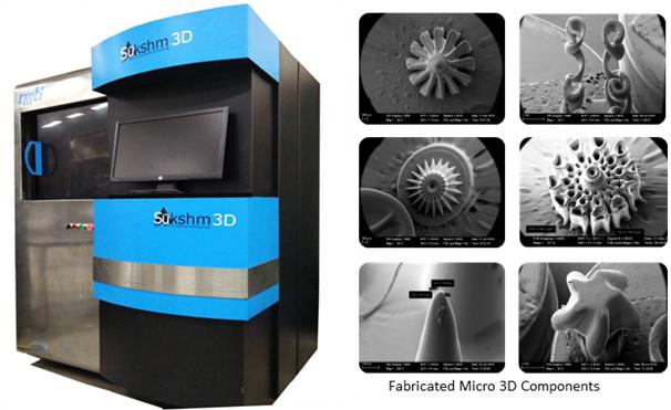 SUKSHM 3D Microfabrication System