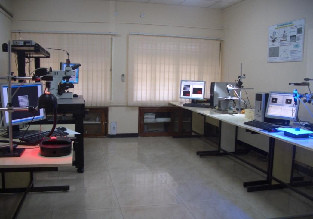 सीएमटीआई में विजन प्रयोगशाला