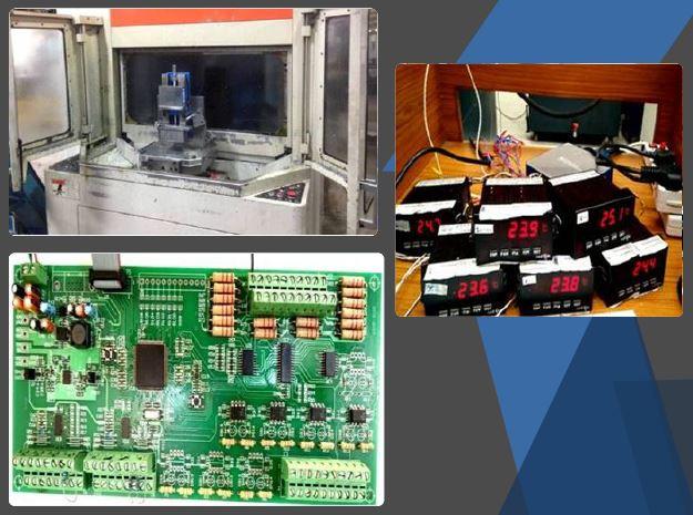 मशीन उपकरण अनुप्रयोगों के लिए थर्मल एररकंपनशेसन मॉड्यूल (टीईसीएम)