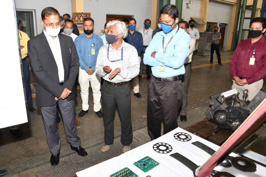 Sri. Arun Goel, DHI-Secretary, Visit – 2021